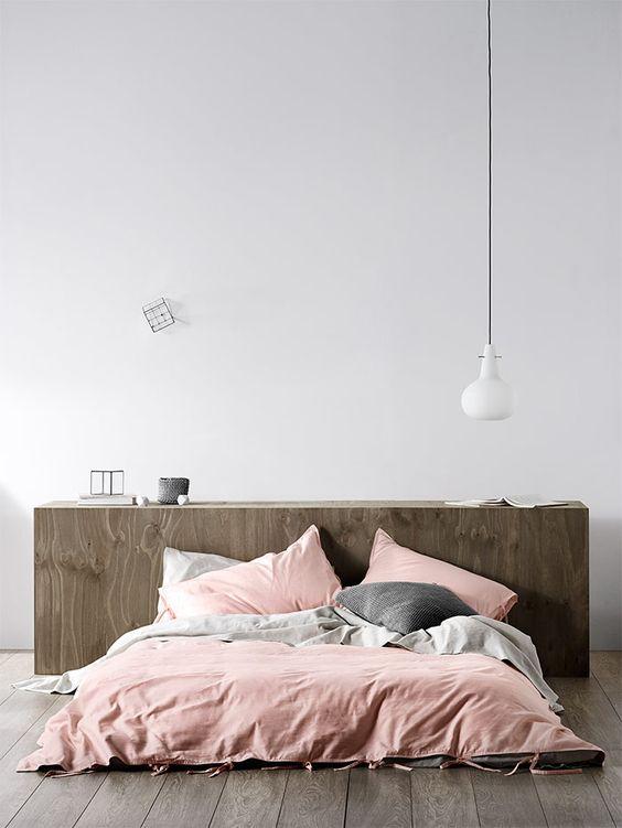 minimalista cama
