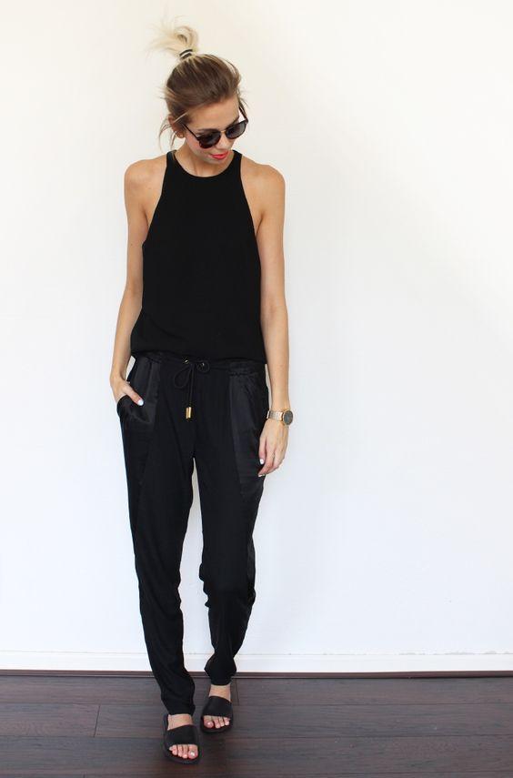 outfit negro calors