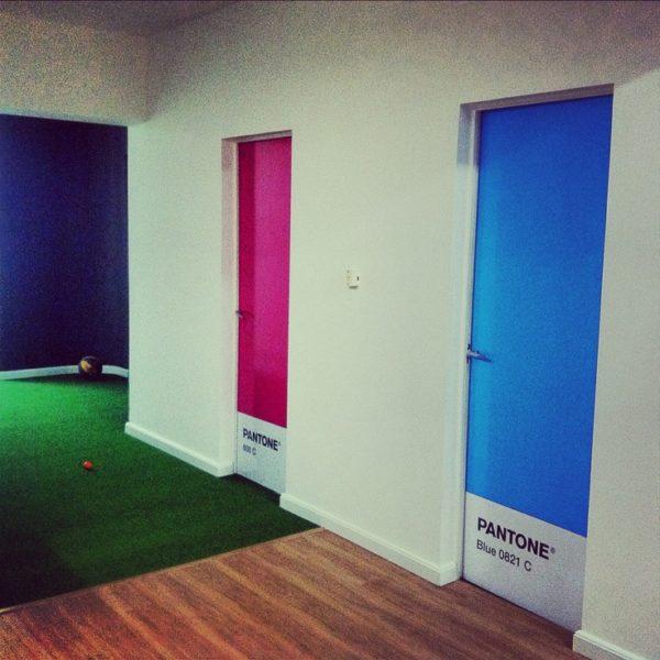 pantone doors