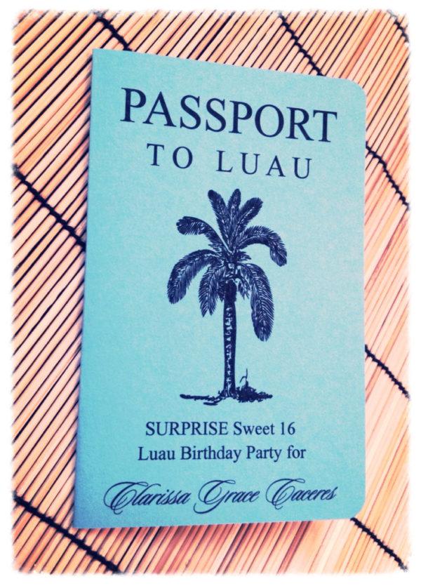 pasaporte quinces