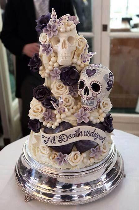 pasteles goticos para boda