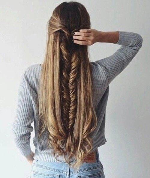 peinado larguisimo