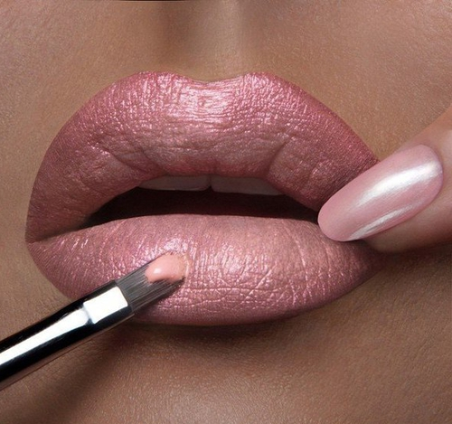 pincel labios