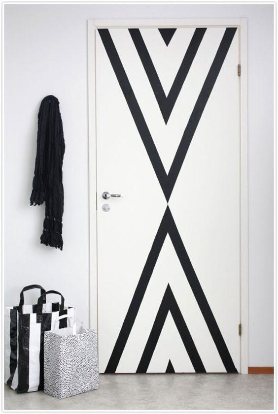 puerta decoraciones