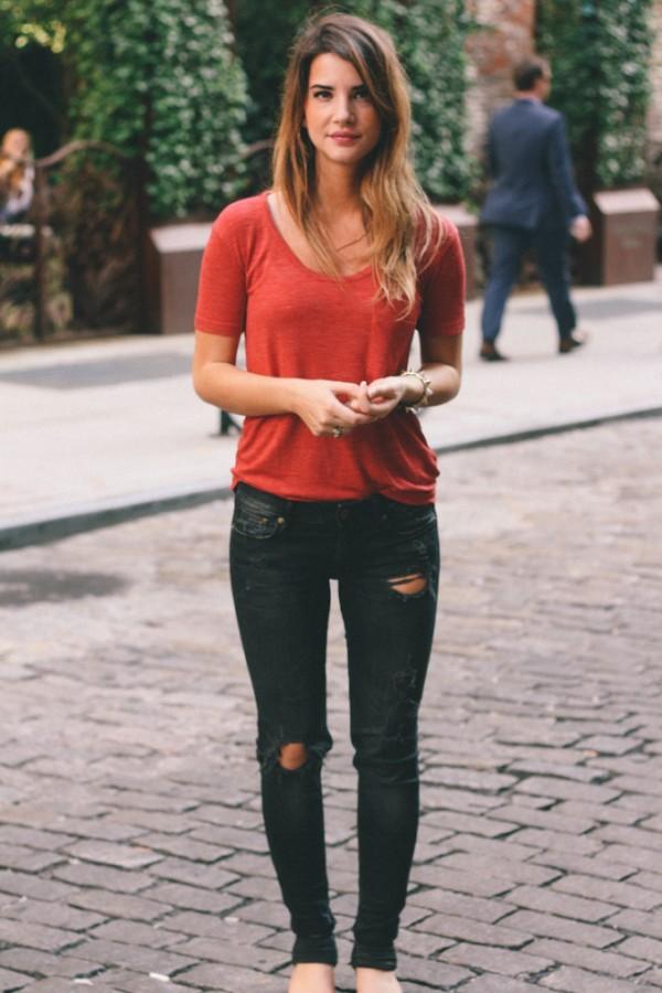 rojo negro street