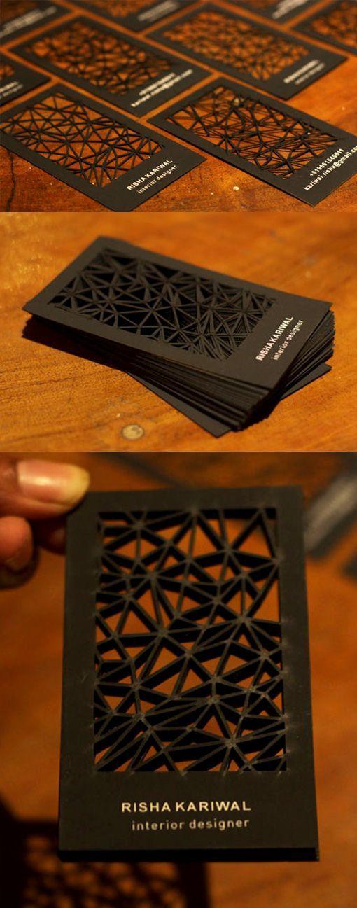 tarjetas de presentacion para chica