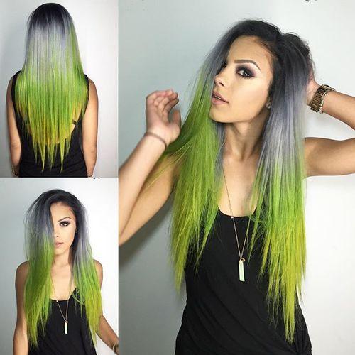 verde con gris