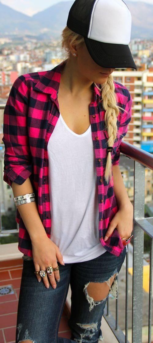 Womens Flannel Shirt Jacket