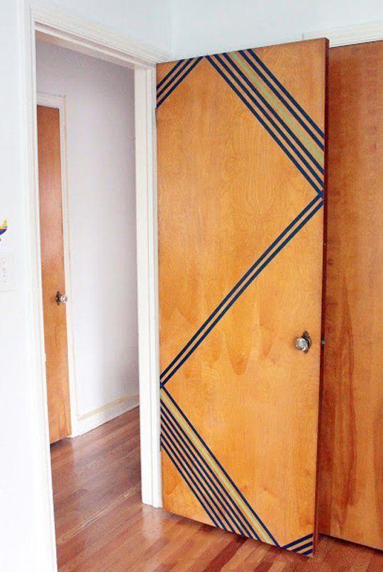 washi con puertas de madera