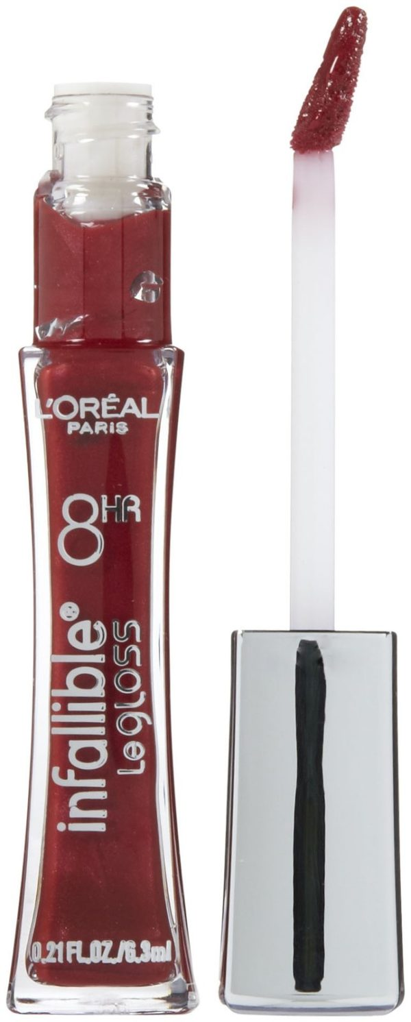 L'ORÉAL PARIS INFALLIBLE NEVER FAIL LIPGLOSS