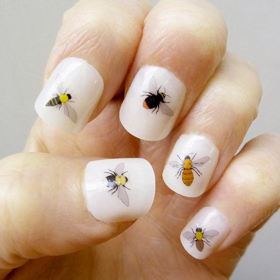 abejas uñas