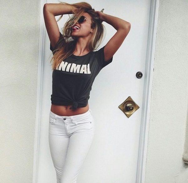animal negro blanco