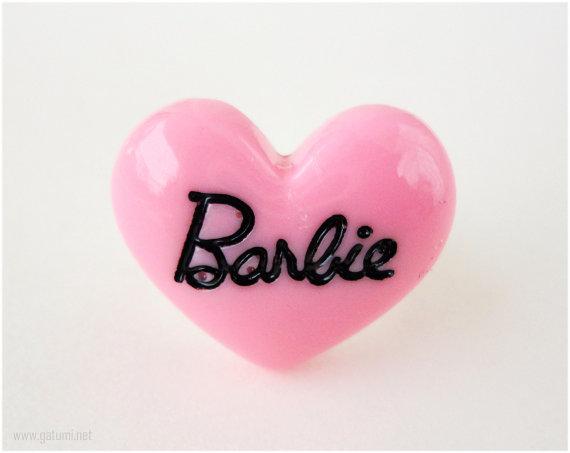 barbie anillo