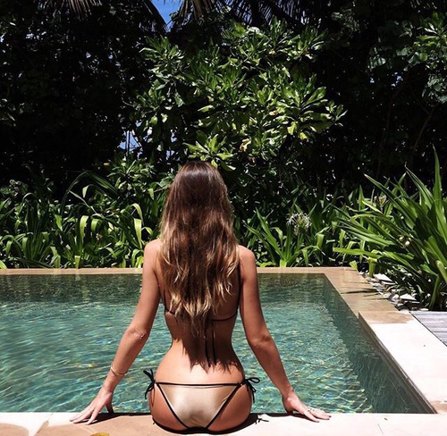 bikini dorado