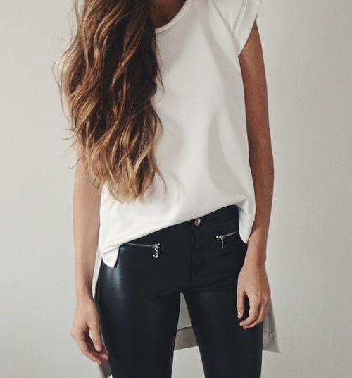 blusa metida
