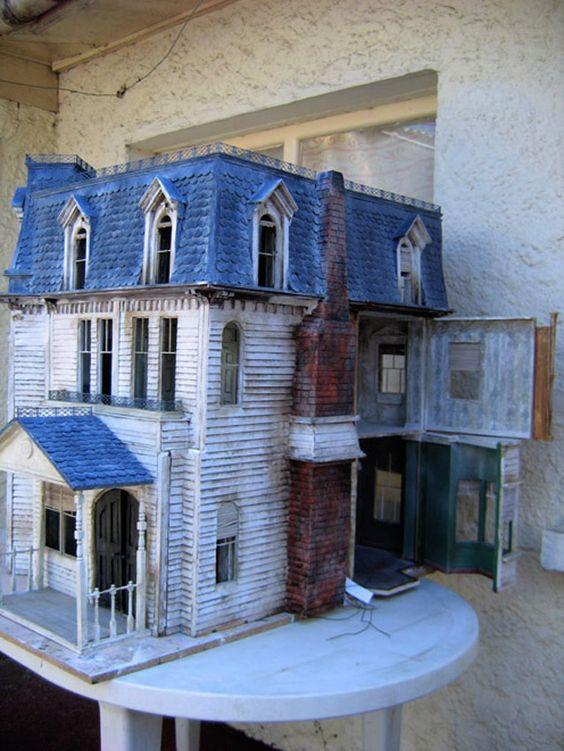 casas embrujadas munecas
