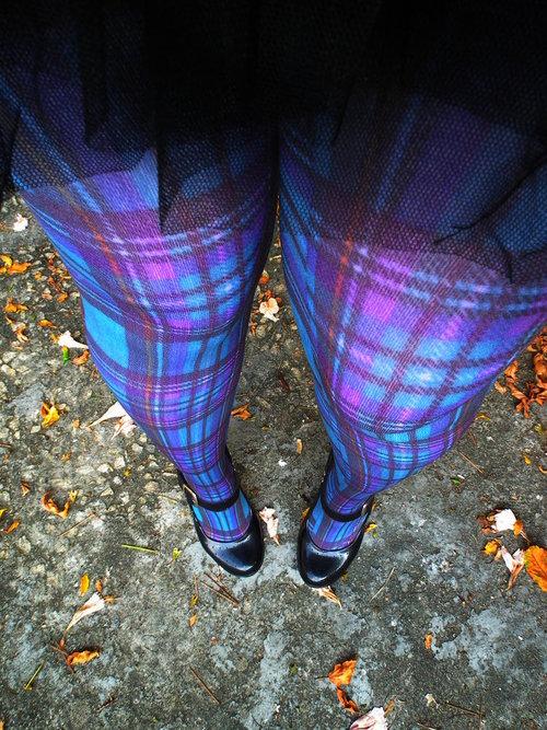 color pantyhose