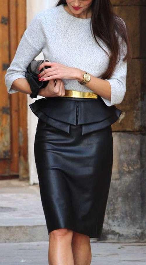 falda cinturon