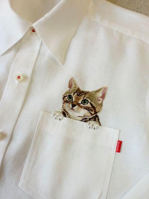 gatito parche