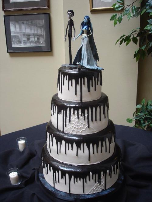 la novia pastel tim burton