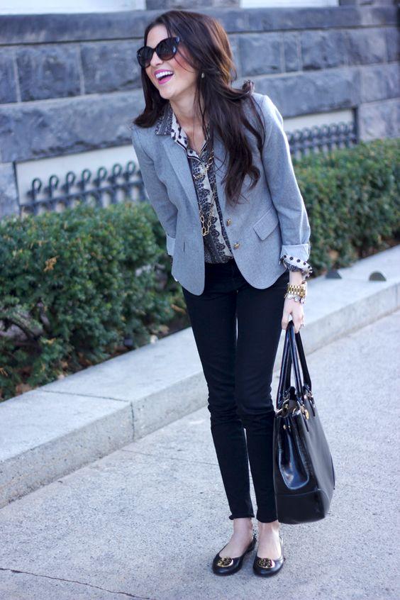 looks para exponer en clase escuela elegante outfit