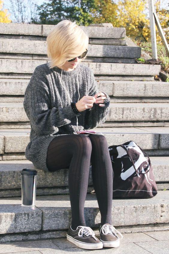31588457e Outfits a los que les deberías añadir unas medias negras