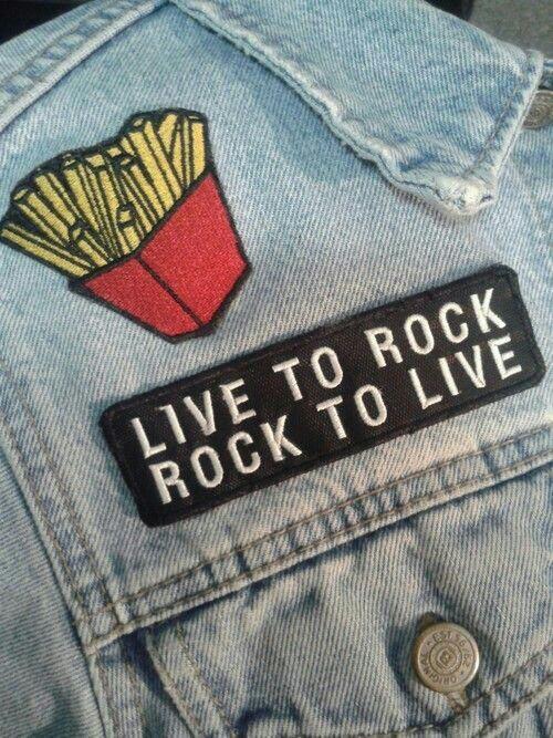 mensaje rockero