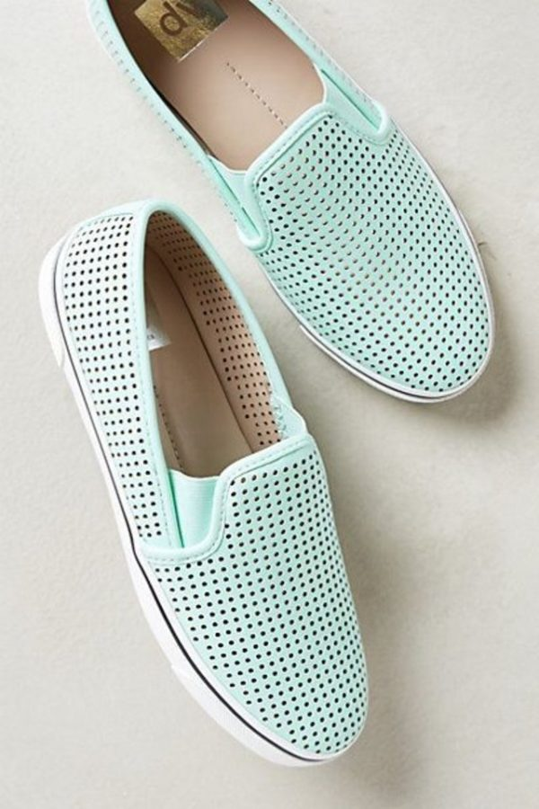 mint slipons