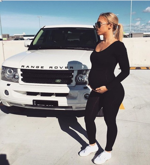 mono pregnant