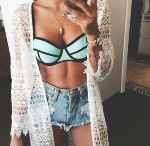 outfit azul