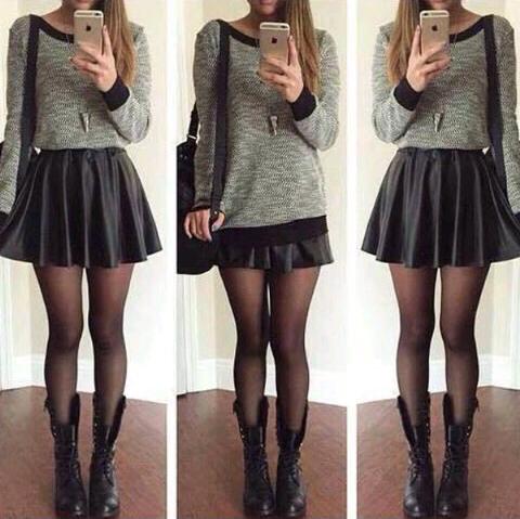 Outfits Con Faldas Y Suu00e9teres Que Definitivamente Van Contigo