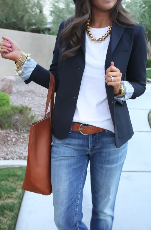outfit trabajo para mujer