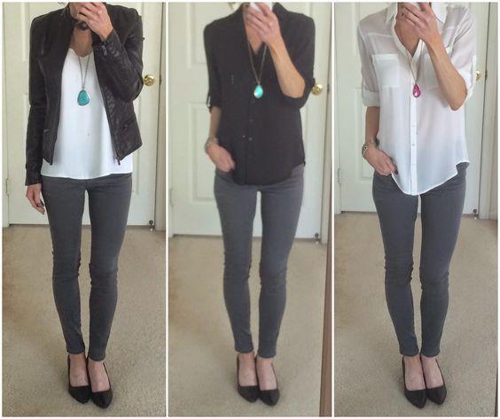 04b11cfc93 14 Outfits con jeans grises para verte sencilla