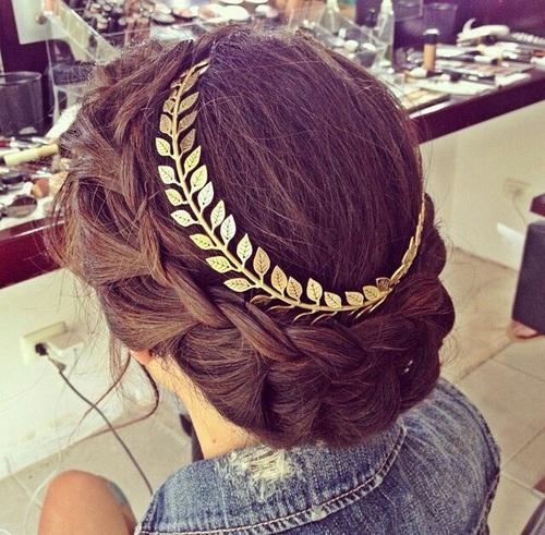 peinado romano griego