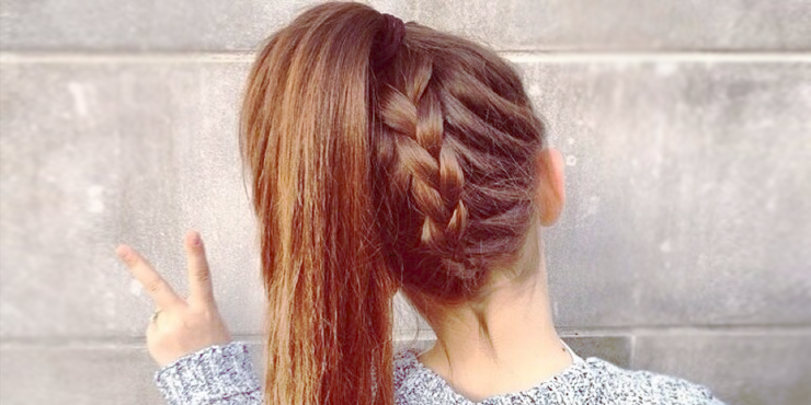 10 peinados con trenzas y cola de caballo que debes intentar - Peinados De Trenzas