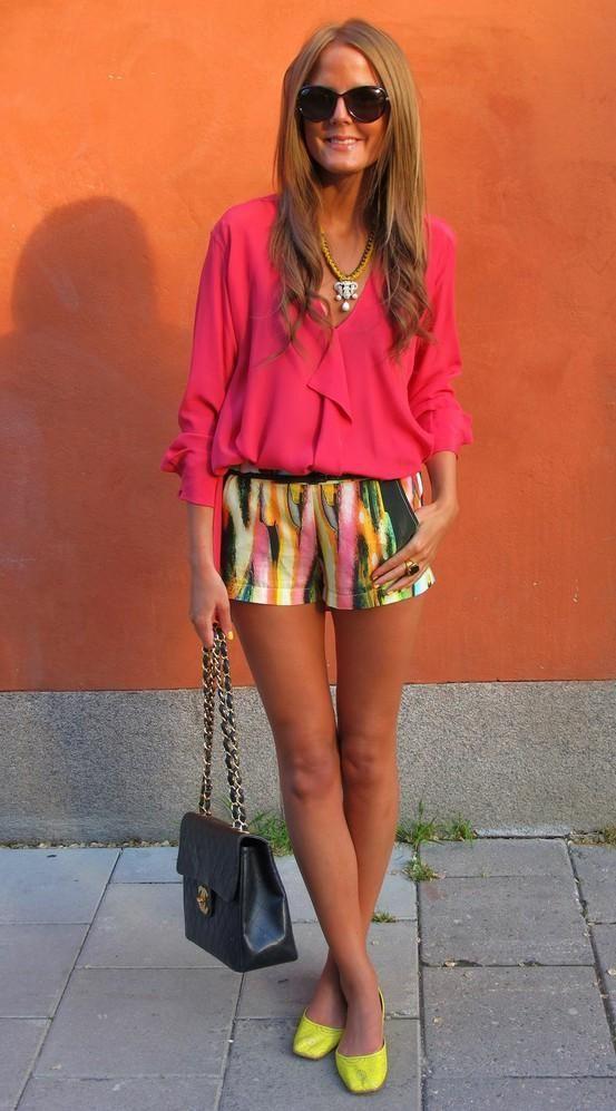 shorts colores