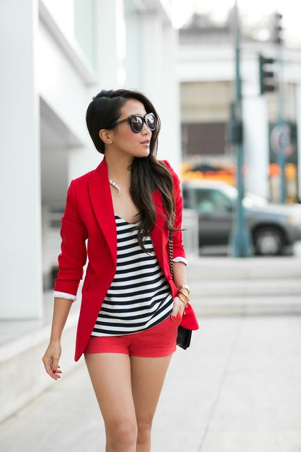 shorts rojos