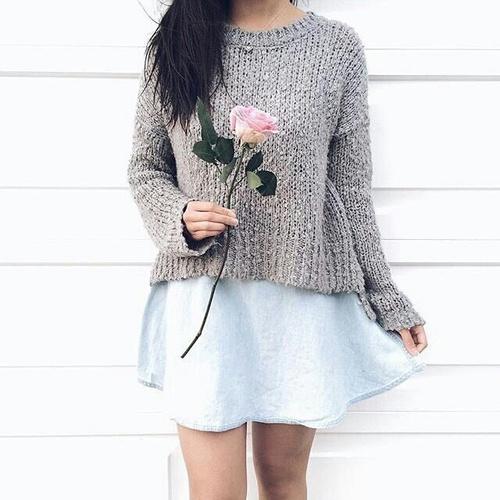 sueter y rosa