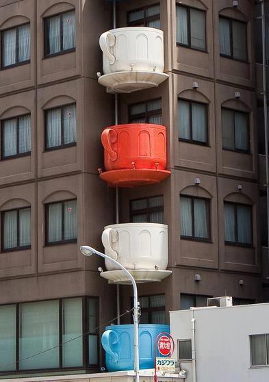 tazas edificio