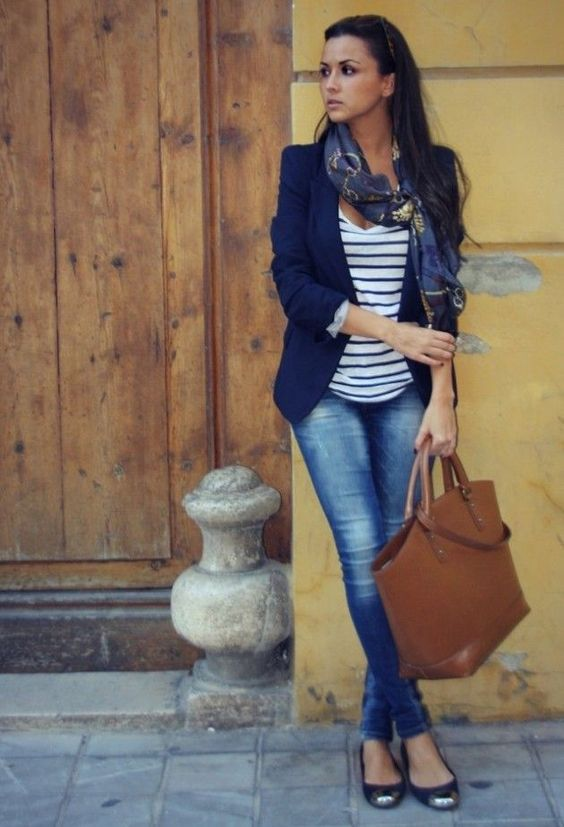 trabajo outfit con flats