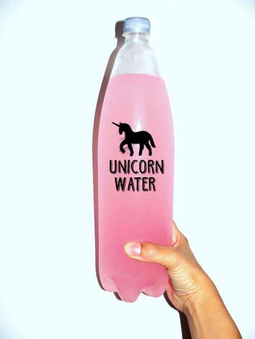 unicorniio agua
