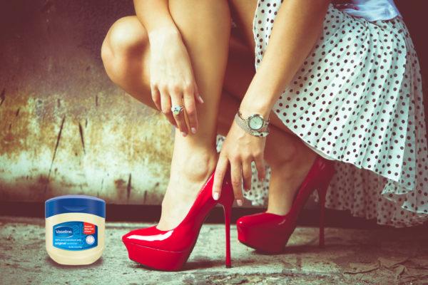 vaselina zapatos