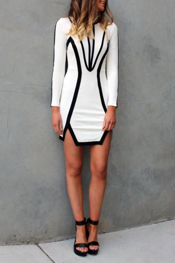 vestido entallados