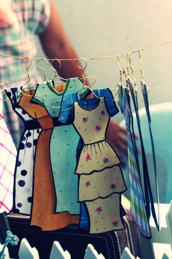 vestido gancho