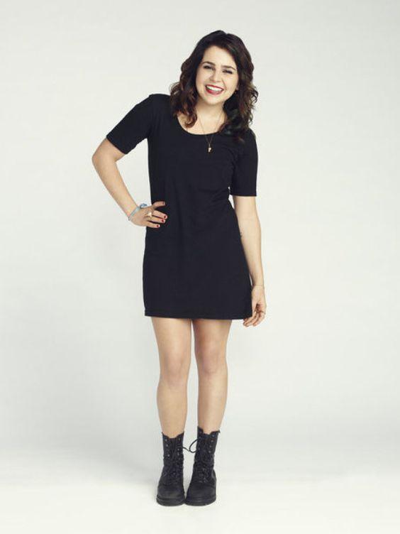 vestido negro para chicas