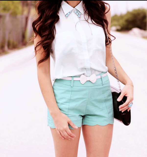 azul short