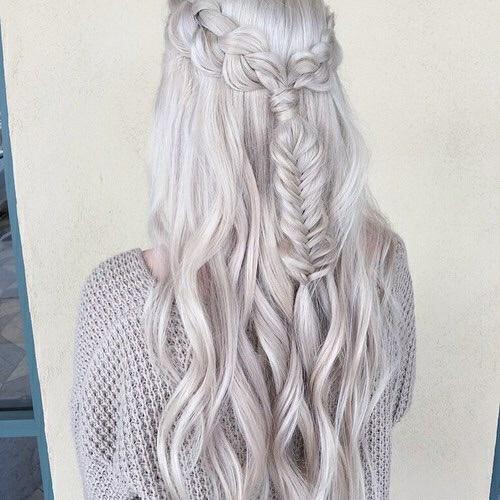 blanco peinado