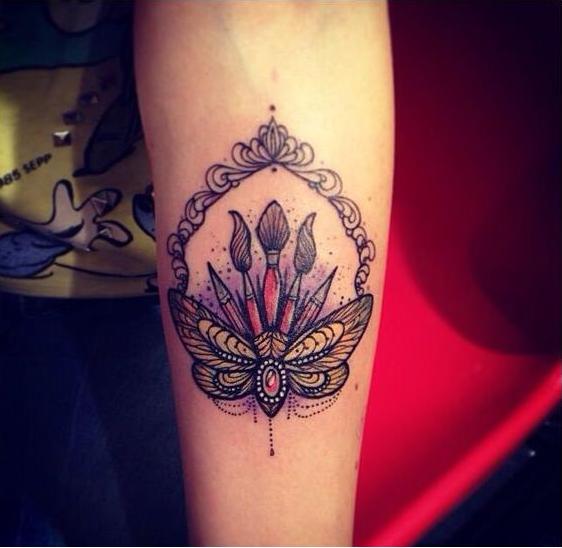 brochas tatuaje