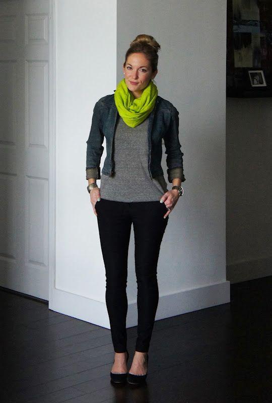 bufanda verde looks