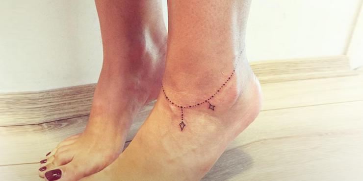 16 Tatuajes Para El Tobillo Que Prueban Que A Veces Menos Es Mas